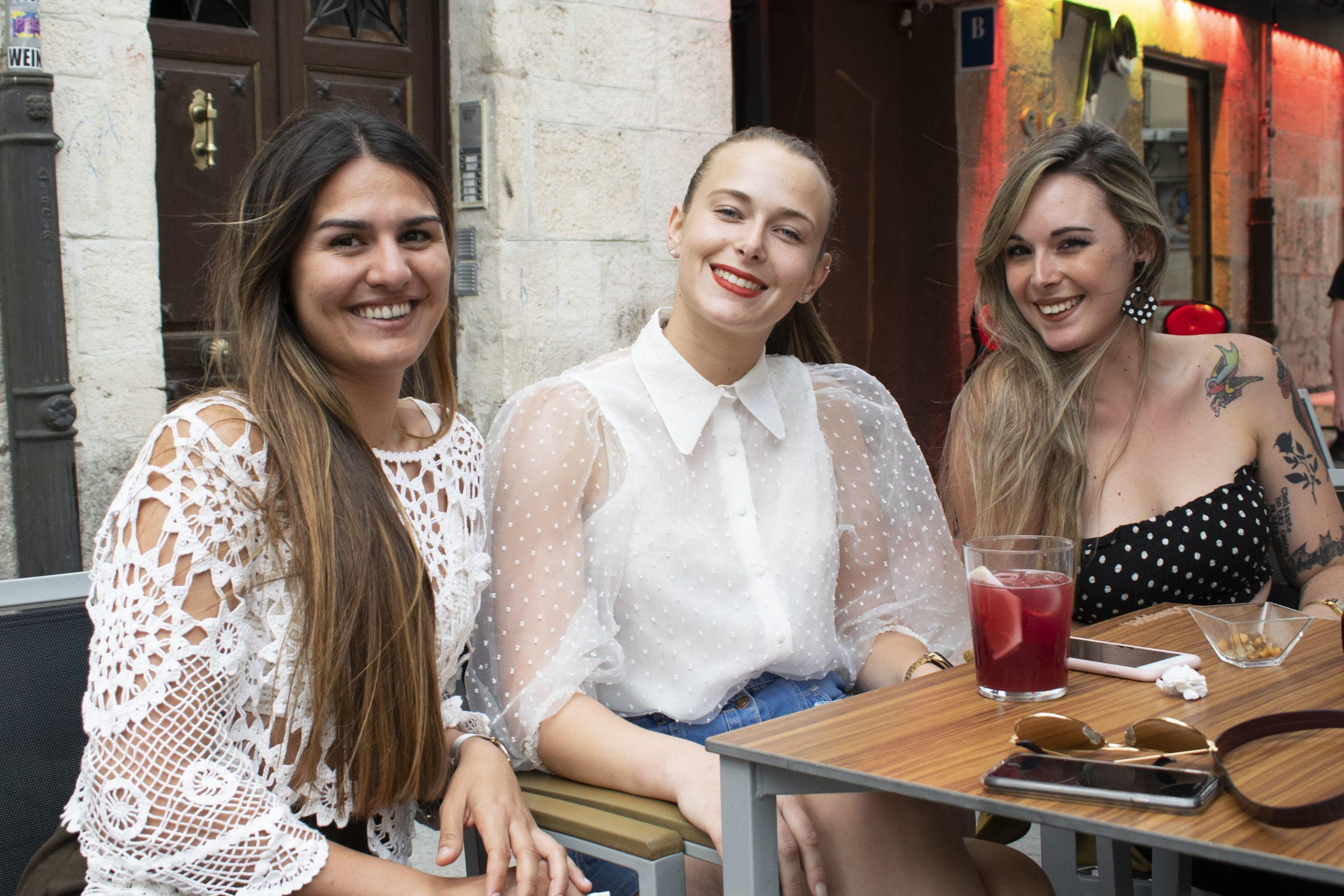 Andrea, Silvia y Lara