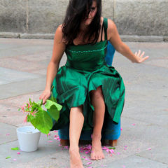 Baila un vestido verde, espectáculo de danza en Gondomar