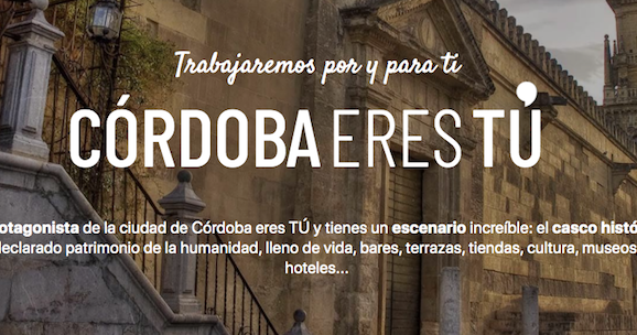 Córdoba, Eres Tú; actividades turísticas para el Verano especialmente dedicadas a los cordobeses