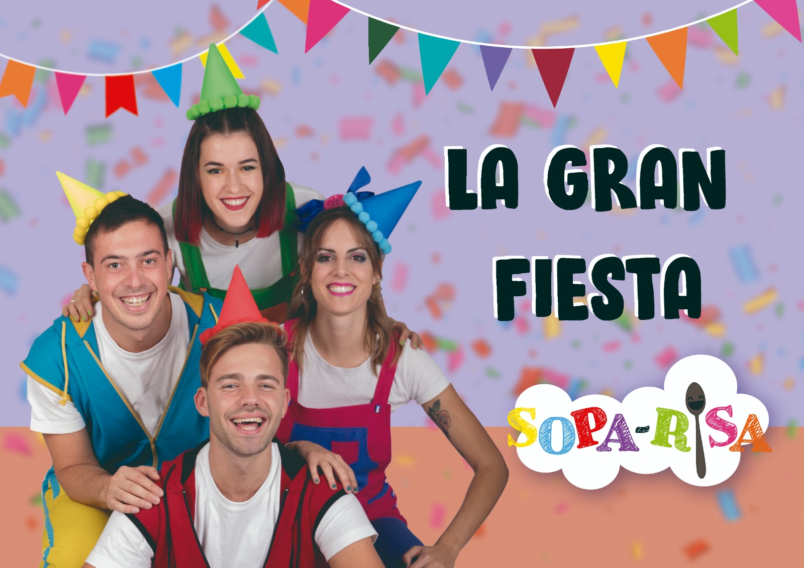 Espectáculo familiar musical Sopa Risa en el Fernando de Rojas