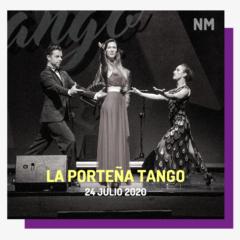 La Porteña en concierto en la Noche de Tango en el Festival Noches Mágicas