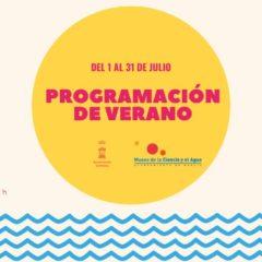 Programación de verano en el Museo de la Ciencia y el Agua de Murcia
