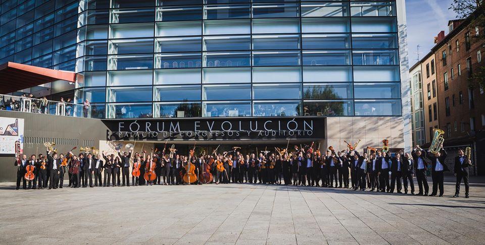 La Orquesta Sinfónica de Burgos en el Fórum Evolución