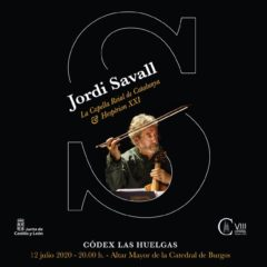 Concierto de Jordi Savall en la Catedral de Burgos