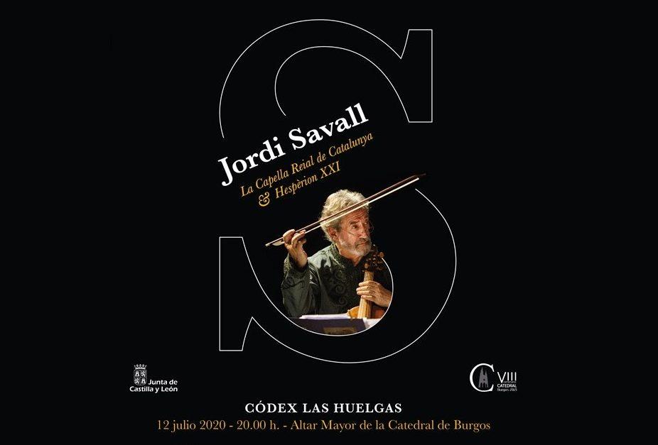 Concierto de música medieval con Jordi Savall en la catedral de Burgos