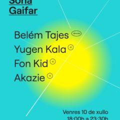 Sona Gaifar, ciclo de música electrónica en Panxón