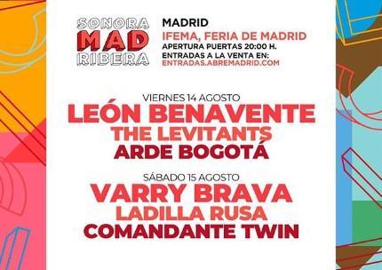 El Sonorama Ribera se ha unido a los organizadores de Abre Madird. Durante dos día la programación musical correrá a cargo del 'Sonorama Madrid Ribera'.