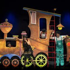 Brama Teatro: 'Los Maquinistas Chu-Cu-Chú' en el Fernando de Rojas