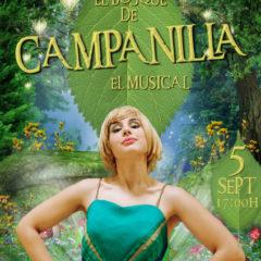 `El Bosque de Campanilla , El Musical´en el Teatro Cervantes