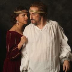 Eduardo II, ojos de niebla en Teatro Romano de Sagunt en Valencia