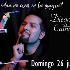 Diego Cathan presenta una jornada de magia en Ulapé Teatro
