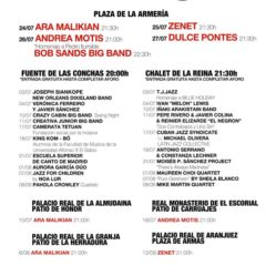 Concierto de Jazz Palacio Real 2020 en Varios espacios Jazz Palacio Real en Madrid