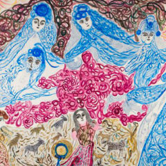 La médium y el poeta. Una conversación astral entre Josefa Tolrà y Joan Brossa en Fundació Joan Brossa en Barcelona
