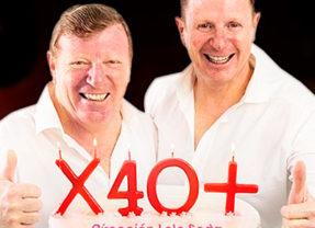 Los Morancos X 40 + en Eras de la Sal en Alicante