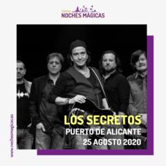 Noches Mágicas presenta a Los Secretos en Alicante