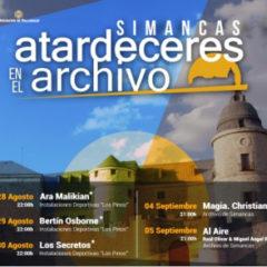 Atardeceres en el Archivo Simancas 2020