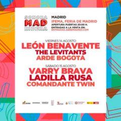 Concierto de SonoraMad Ribera 2020 en Abre Madrid