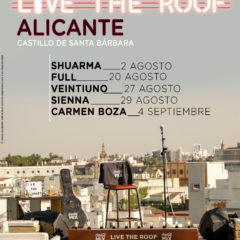 Live The Roof vuelve al Castillo de Santa Bárbara