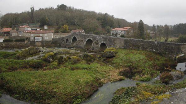 El pueblo coruñés A Ponte Maceira, de los más bonitos de España