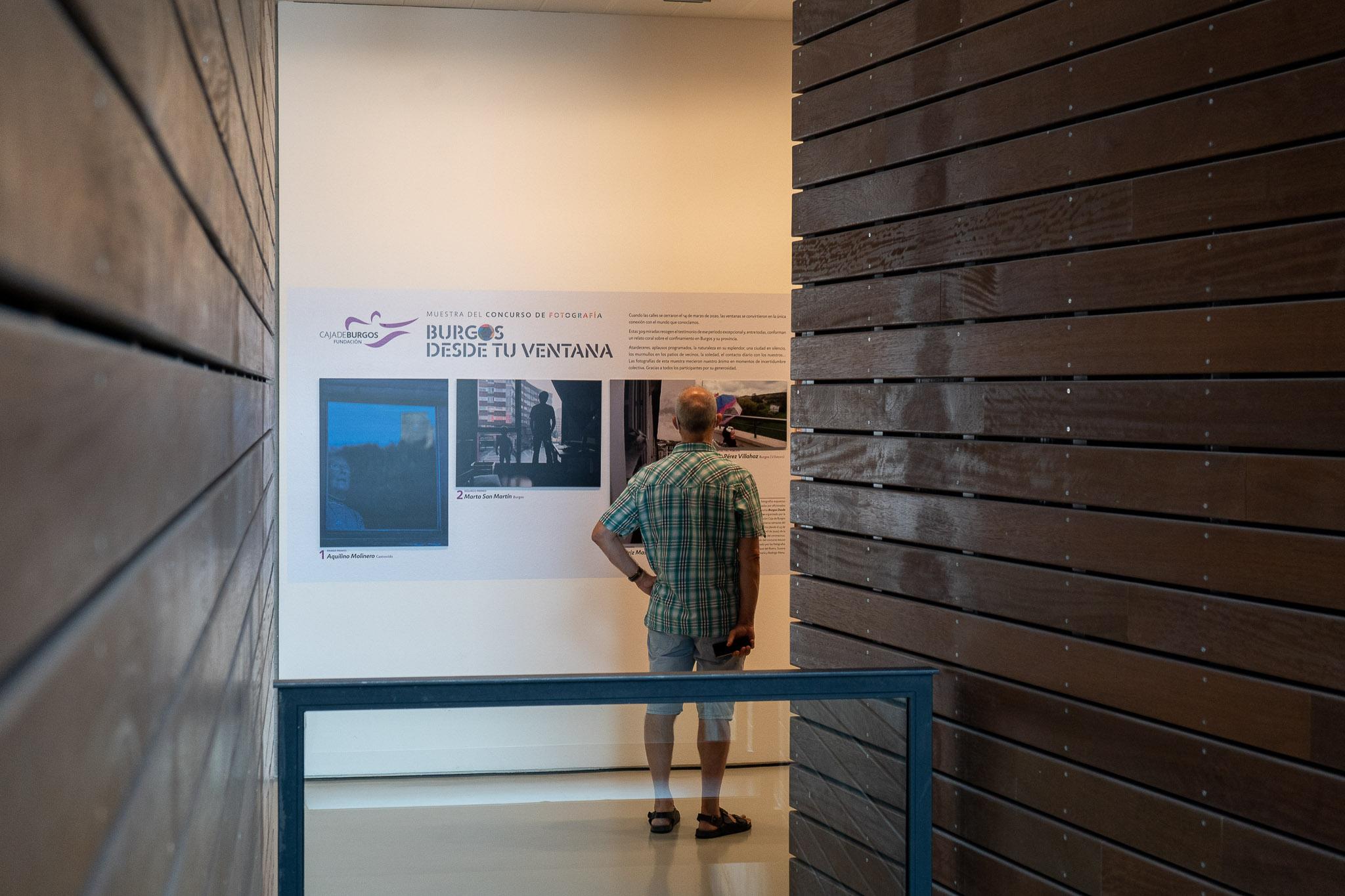 Exposición: Burgos desde tu ventana en el CAB
