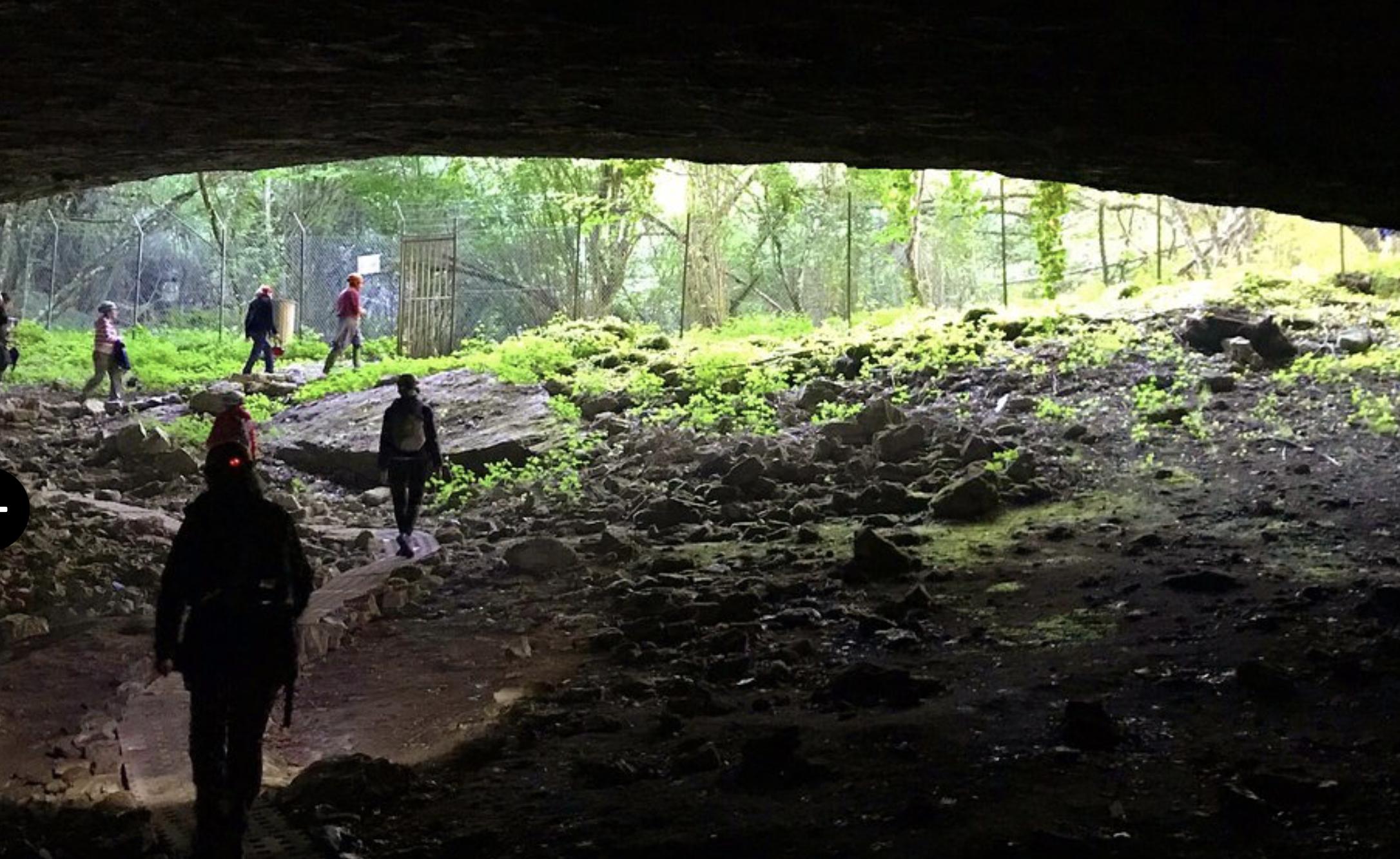 Cueva Palomera en Burgos