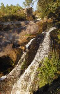Cascadas de As Laxes de Rebón Moraña