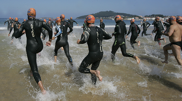 Costa Serena travesía a nado
