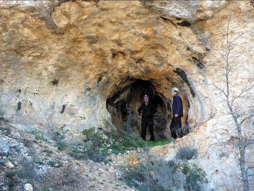 Cueva de Pena Ladrero Grupo Edelweiss