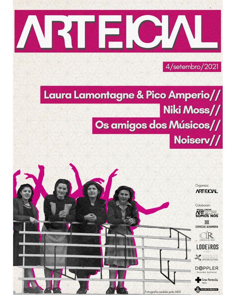 Arteficial, festival de música y cultura alternativa en Ribadavia