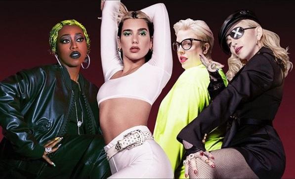 Dua Lipa relanzará su álbum Future Nostalgia con colaboraciones de lujo como Madonna