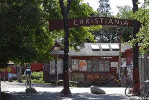 La Ciudad Libre de Christiania no obedece a más ley que la suya propia