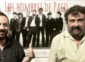 La primera imagen del rodaje de 'Los hombres de Paco'