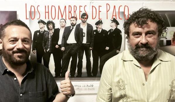 La primera imagen del rodaje de Los Hombres de Paco