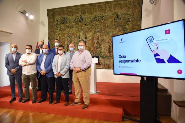 Presentación de la app Ocio Responsable - Vicepresidencia de la JCCM