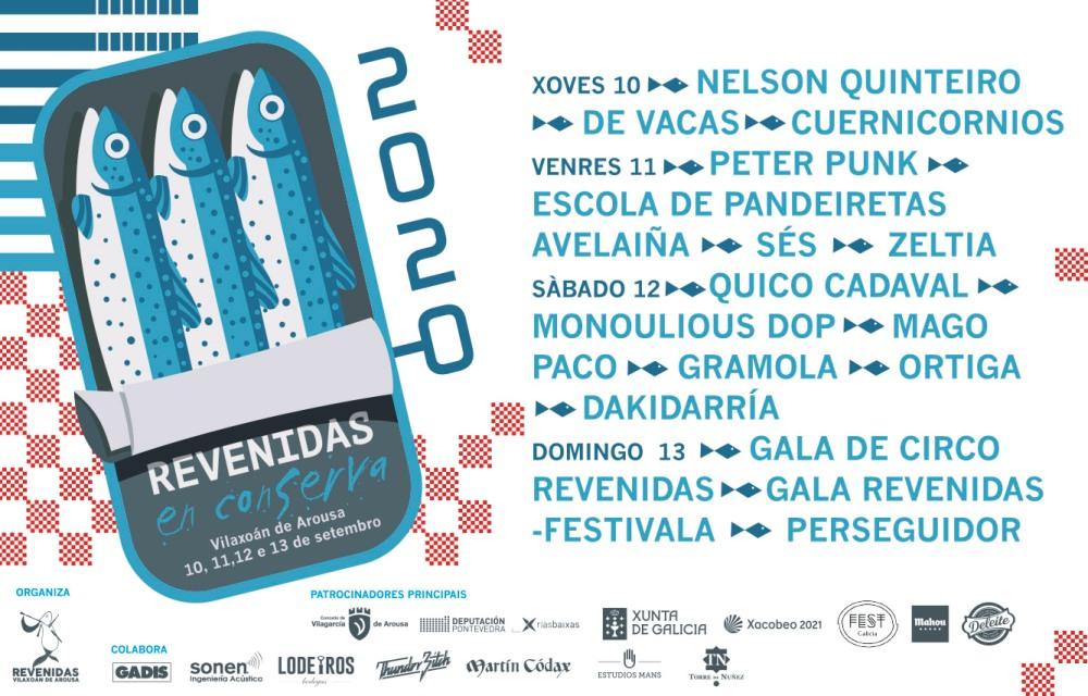 Revenidas en conserva, festival en Vilaxoán de Arousa