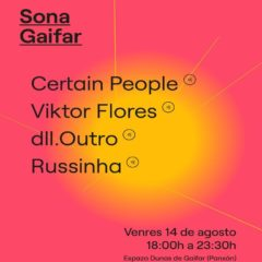 Sona Gaifar, segunda edición del ciclo de música electrónica