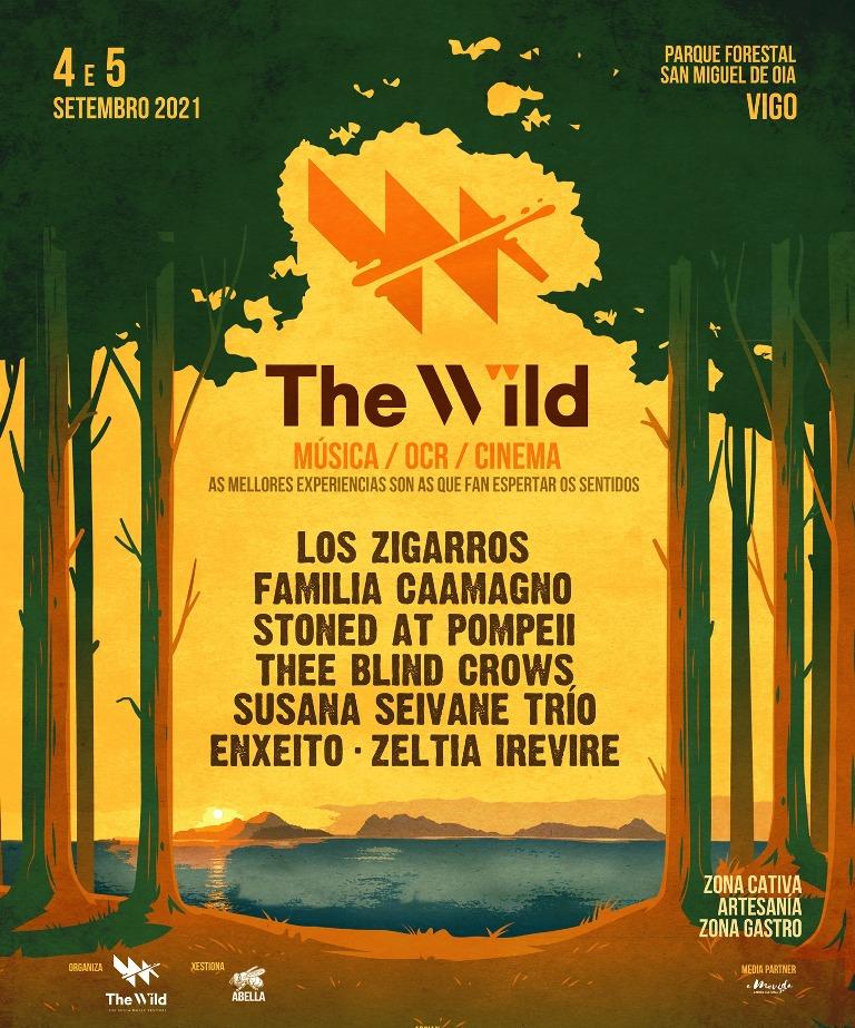 The Wild fest, festival en la naturaleza en Vigo