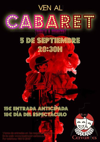 `Ven al cabaret, tributo a Broadway´ en el Teatro Cervantes
