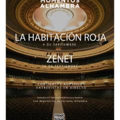 Momentos Alhambra se traslada al Castillo de Santa Bárbara con los conciertos de La Habitación Roja y Zenet