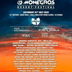 Concierto de Monegros Desert Festival 2021 en Desierto de los Monegros en Huesca