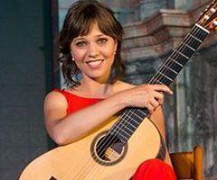 Paola Requena, recital de guitarra clásica en el Teatro Gongora