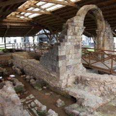 Termas romanas en la Mies de San Juan de Maliaño