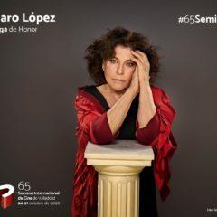 Charo López recibirá la Espiga de Honor de la #65Seminci