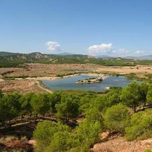 Foto de pantano de Calahorra