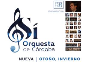 La Orquesta de Córdoba regresa a los teatros en Septiembre