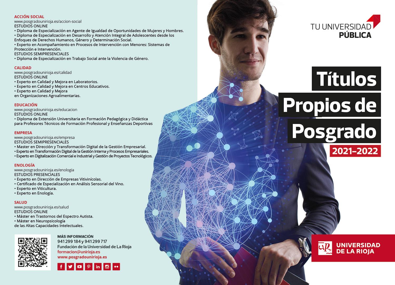 Titulos propios de Posgrado Universidad de la Rioja FUR