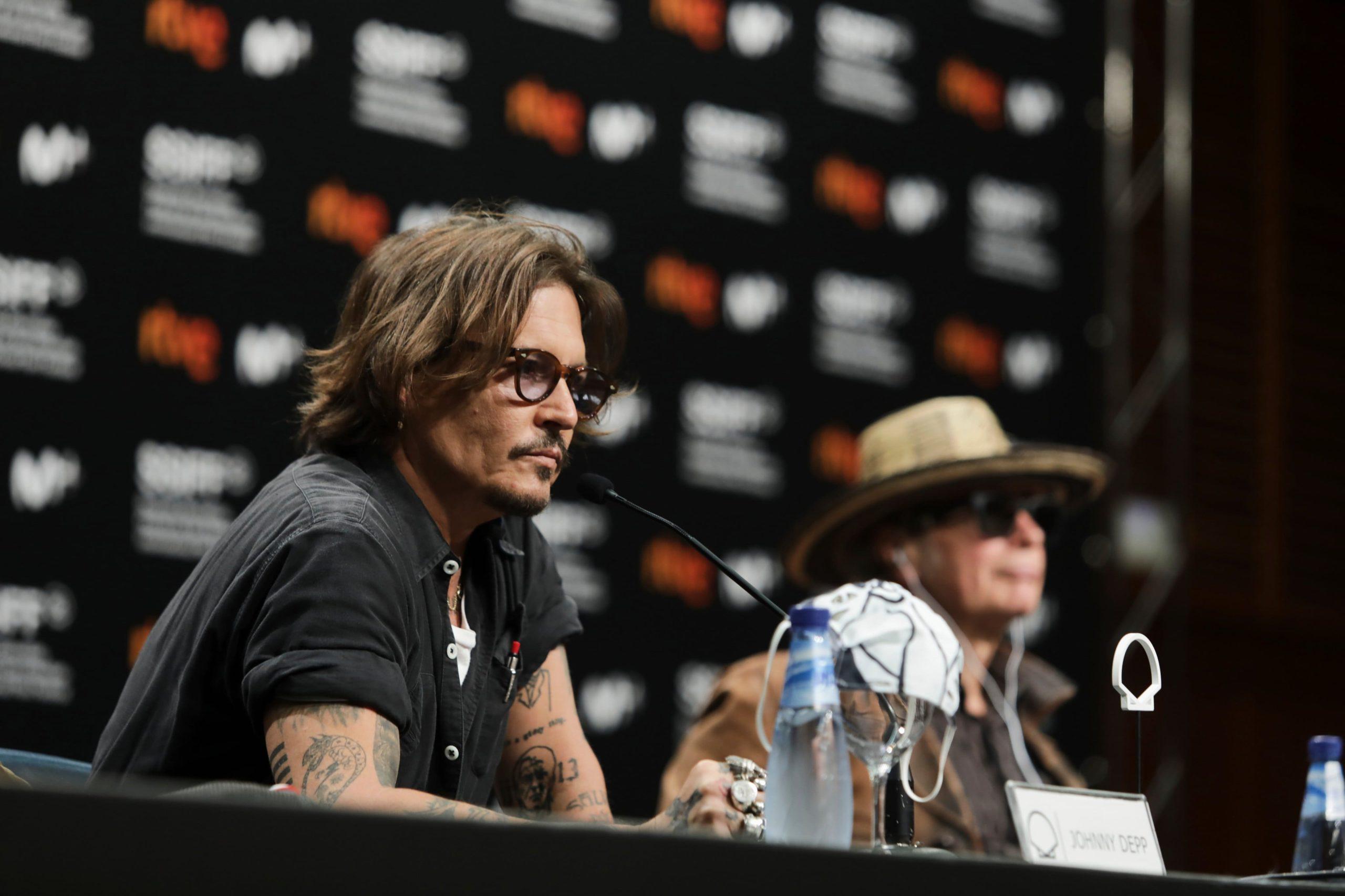 Johnny Depp Festival de Cine de San Sebastián