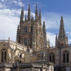 José Luis Moreno rueda en la Catedral de Burgos su nueva serie