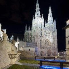 La Catedral y el Ayuntamiento se iluminan en homenaje a los farmacéuticos