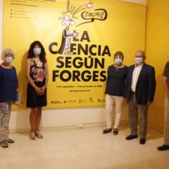 El Museo de la Ciencia ha inaugurado la nueva exposición temporal `La Ciencia según Forges´